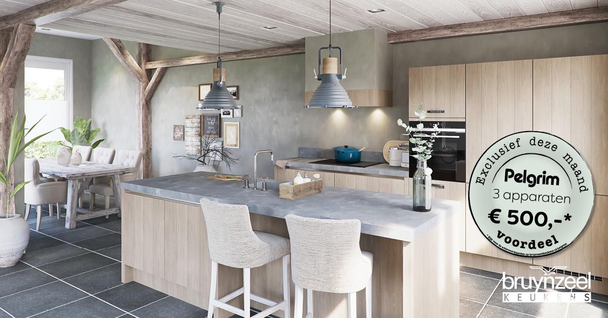 Keukenkasten Met Apparatuur : Exclusief voordeel pelgrim apparatuur bruynzeelkeukens
