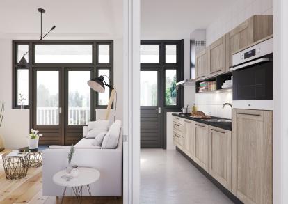 Verbazingwekkend Kleine ruimtes, grote keukenoplossingen | Bruynzeelkeukens.nl YM-09