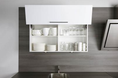 Keukenkasten Met Rolluiken : Bovenkast met vouwklep bruynzeelkeukens