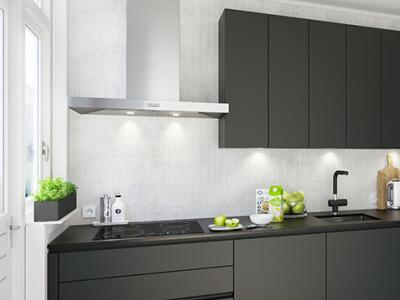Keuken Wandmodel