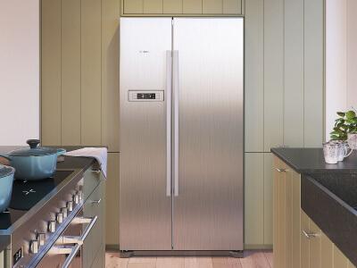 Keuken Amerikaanse koelkast