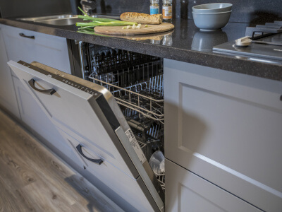 Keuken Vaatwasser met gekoppeld front
