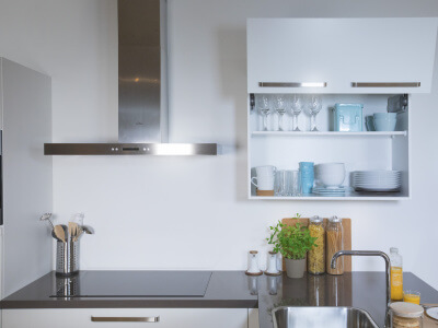 Keuken Bovenkast met vouwklep
