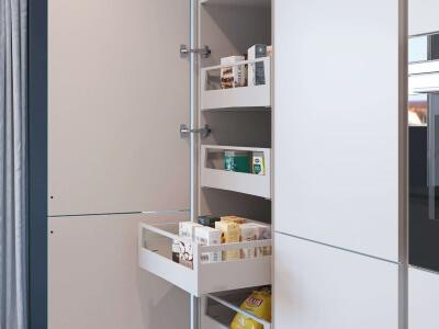 Keuken Voorraadkast met interne lades