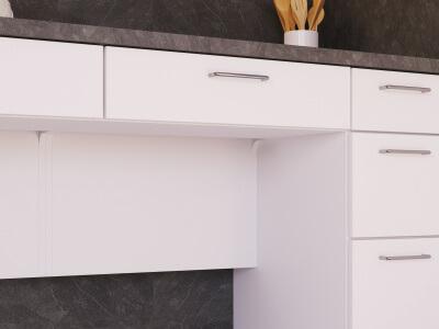 Keuken Traploos in hoogte verstelbaar