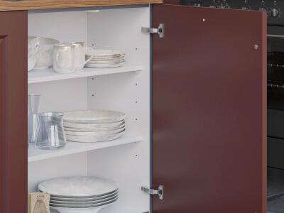 Keuken Voorraadkast met legplanken