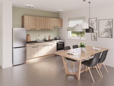 Keuken Personalisatie van de keukens mogelijk door middel van ons klantvriendelijke huurderskeuzetraject