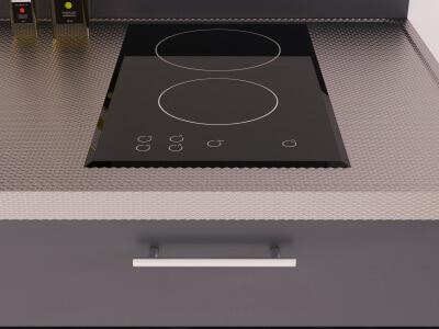 Keuken Inductiekookplaat met 2 kookzones