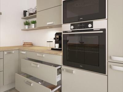 Keuken Oven en magnetron