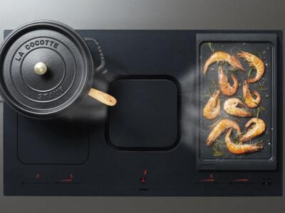 Kookplaten met afzuiging