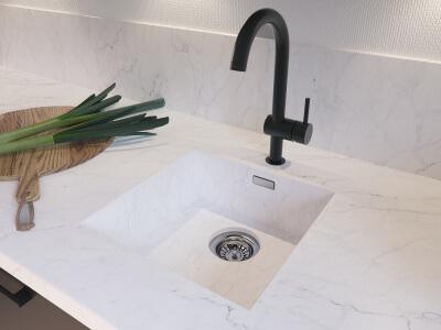 Witte Wasbak Keuken : Spoelbakken bruynzeelkeukens