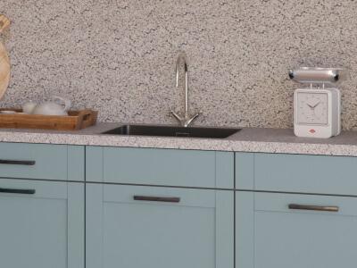 Keukenblad van natuursteen of graniet