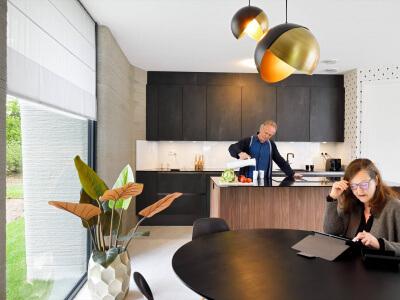 Een Bruynzeel keuken in een wel heel bijzondere woning