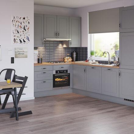 Keukens - Bolton Platinagrijs