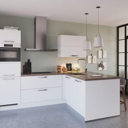 Keukens - Olympia Wit