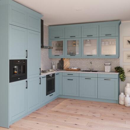 Keukens - Romantiek NCS Hemelsblauw