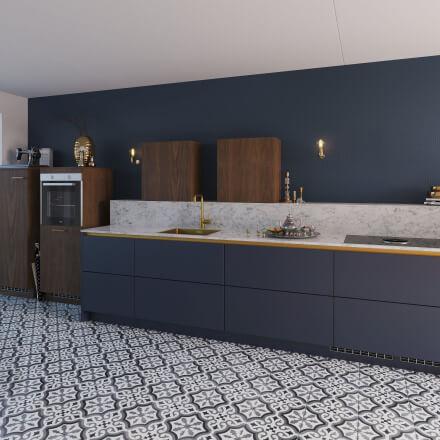 Keukens - Olympia Nachtblauw