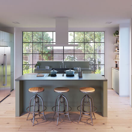 Keukens - Olympia Olijfgroen