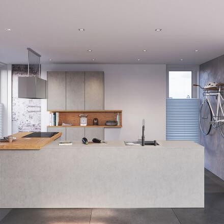Keukens - Atlas Betongrijs & Oud eiken natuur