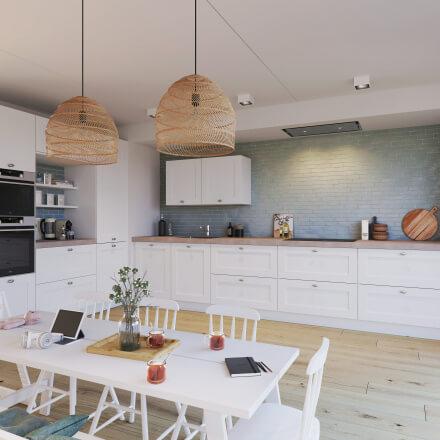 Keukens - Atlas kader wit
