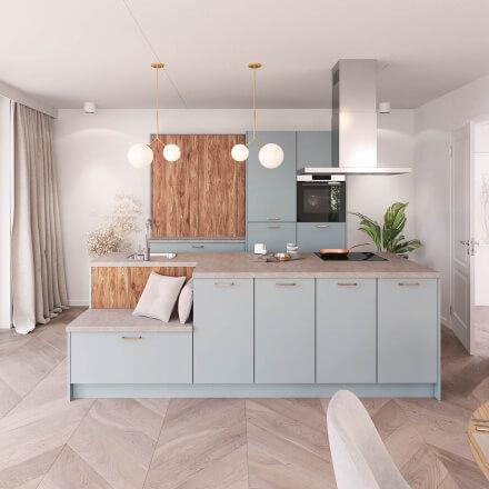Keukens - Olympia antiekgroen