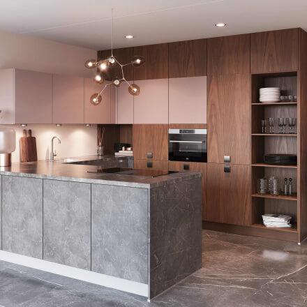 Keukens - Atlas Marmer grijs