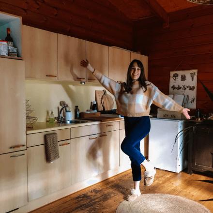 Keukens - Nieuwe keuken in Jennie's boshuisje