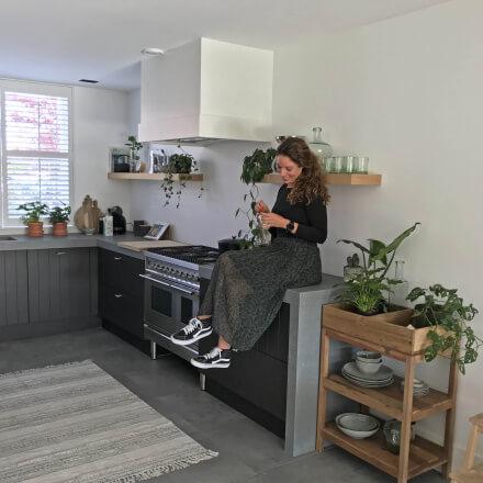 Een kijkje in de keuken van Kirsten