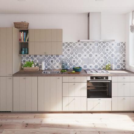 Keukens - Laren Stroken 15 Leem