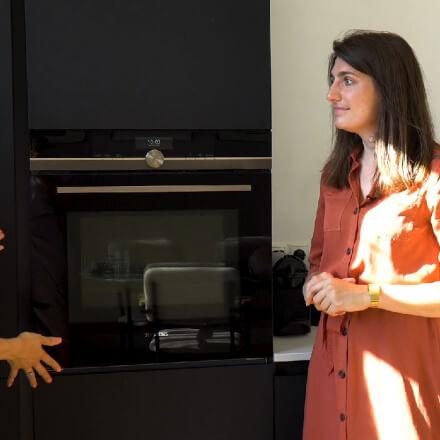 Een kijkje in de nieuwe keuken van Isabelle