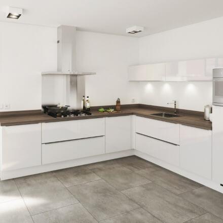 Keukens - Pallas Wit
