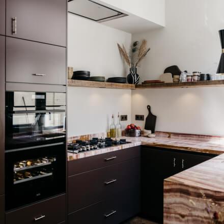 Een kijkje in de nieuwe keuken