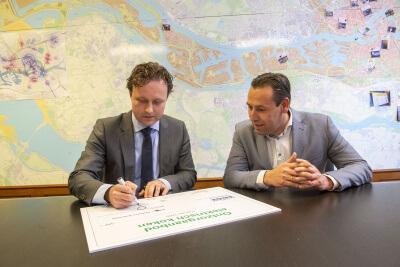 Keuken Gemeente Rotterdam en Bruynzeel Keukens slaan handen ineen voor klimaatneutrale toekomst