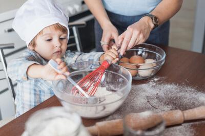 Jong geleerd is oud gedaan: koken met kinderen