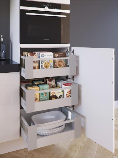 Bruynzeel Keukenkastjes Bijbestellen.Voorraadkasten Bruynzeelkeukens Nl