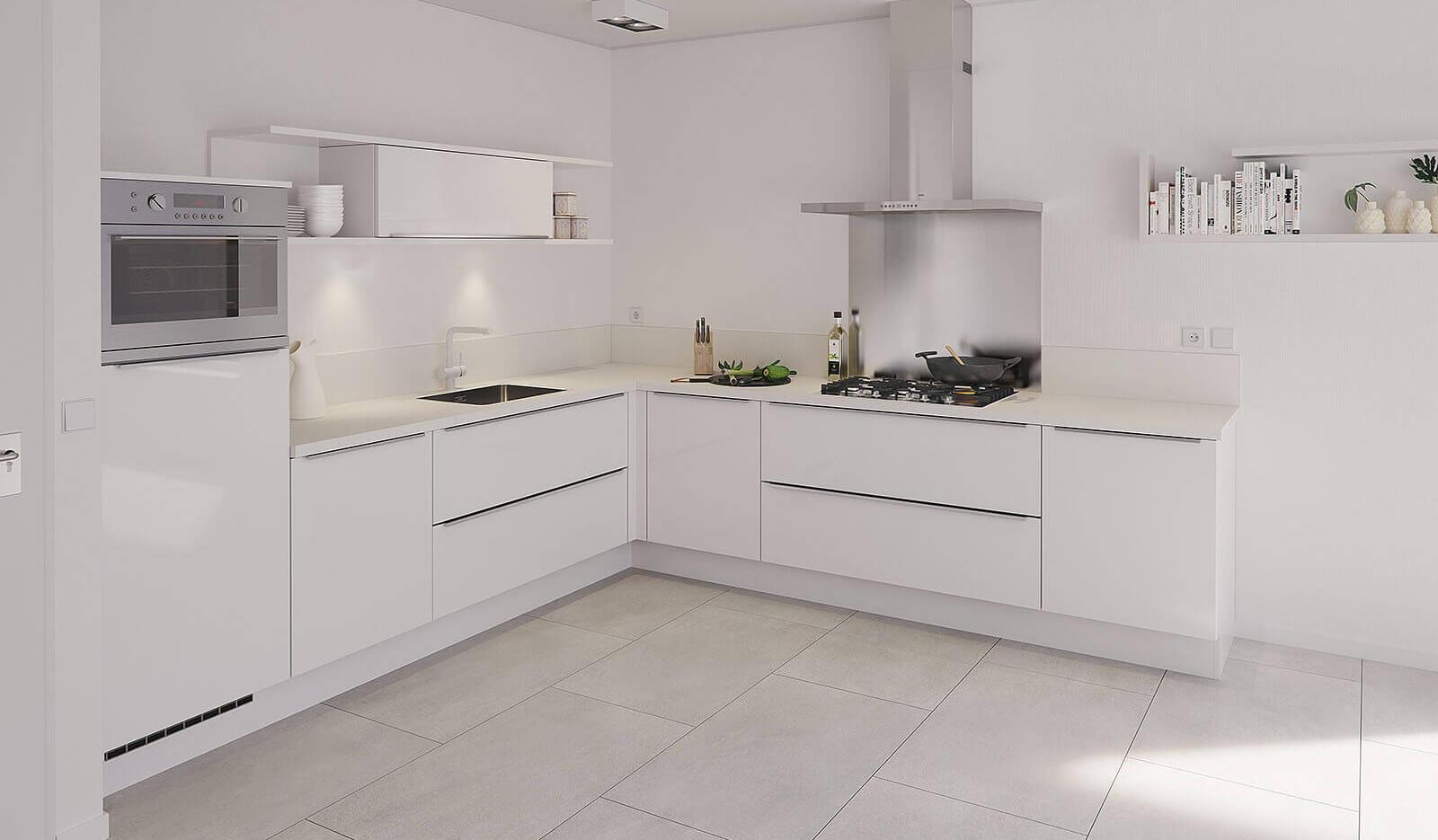 Keuken Pallas ijswit