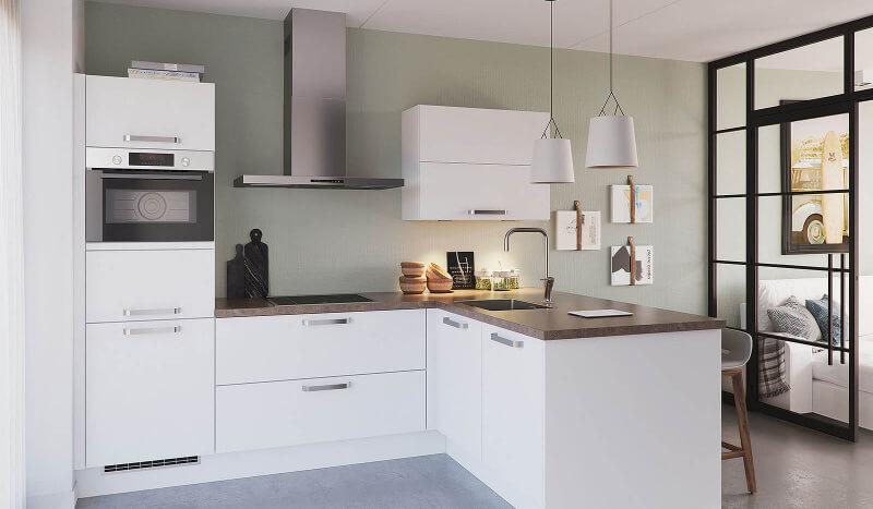 Keuken Olympia wit