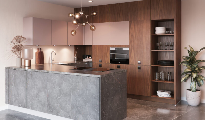 Keuken Atlas Marmer grijs