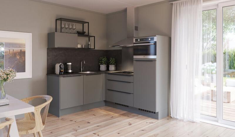 Keuken Keukens met een luxe en tijdloze uitstraling die tegen een stootje kunnen