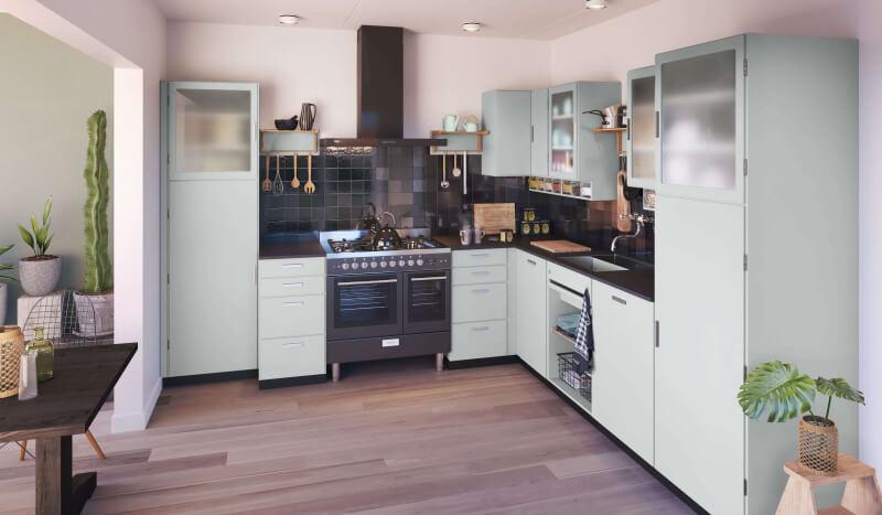 Keuken Piet Zwart varengroen